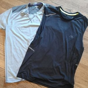 MENS ATHLETIC SHIRTS 2 FOR 1